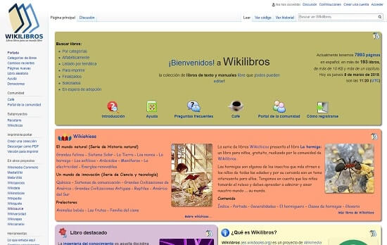 Wikisource Libros leer libros on line