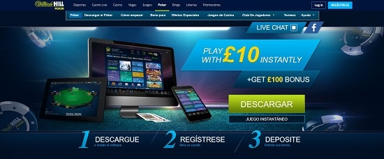 William Hill Poker Póker online
