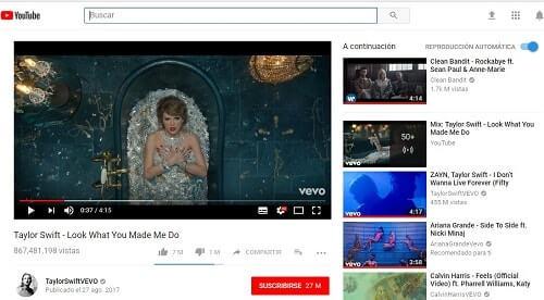 Youtube encuentra cualquier cosa