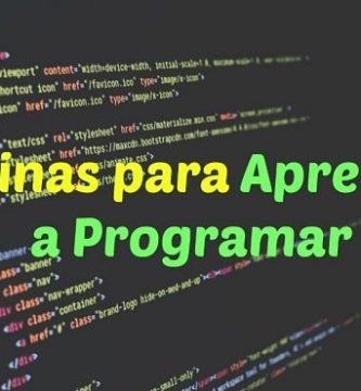 webs para aprender a programar