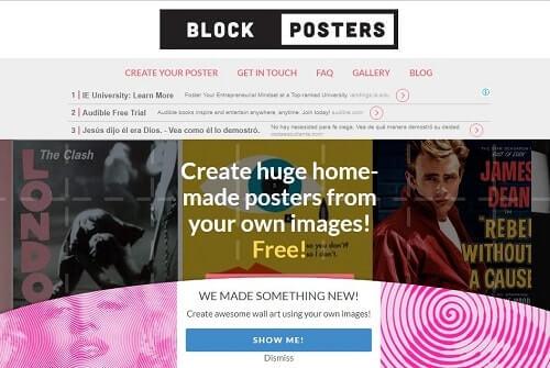 blockposters Como hacer un cartel publicitario