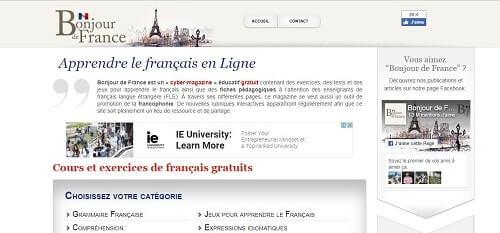 bonjourdefrance aprender francés