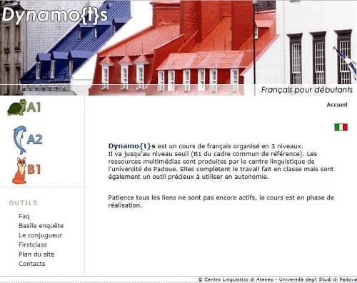 dynamots cursos de frances gratis para principiantes