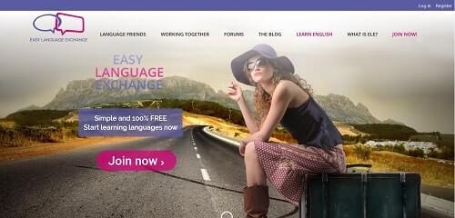 pages anglophones d'easylanguageexchange