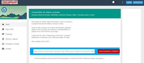 forcedownload mejores paginas bajar videos youtube