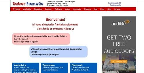 saberfrances como aprender francés gratis