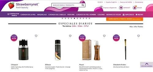 strawberrynet donde comprar maquillaje online