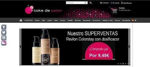 tokedecolor web maquillaje