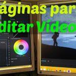 páginas para editar vídeos
