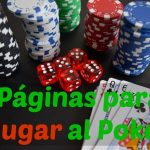 páginas para jugar al poker