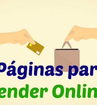 páginas para vender online
