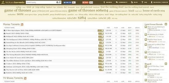 Kickasstorrents descargar peliculas utorrent