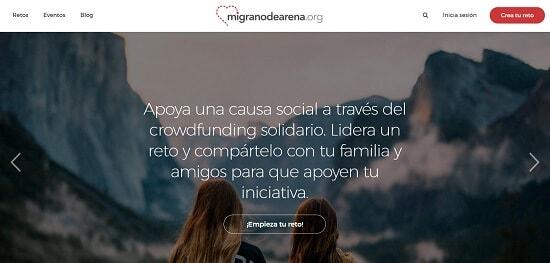 Migranodearena recaudar dinero para proyectos
