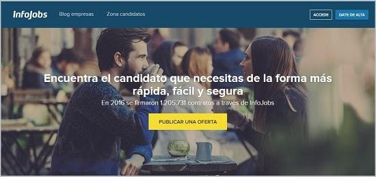 infojobs Publicar Empleo