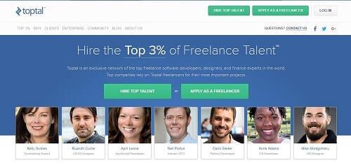 toptotal trabajos freelance en español