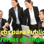 páginas donde publicar ofertas de empleo