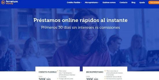 Ferratum Pedir crédito online