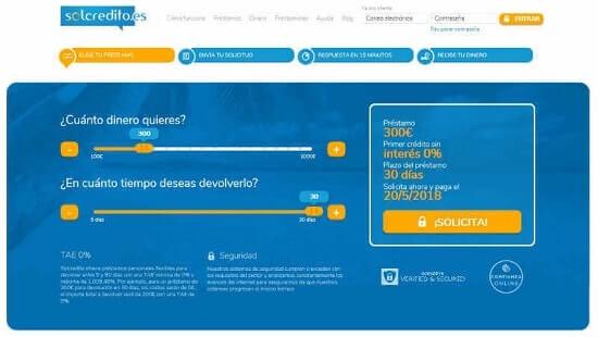 Solcredito Crédito rápido online