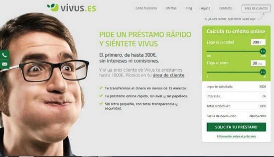 Vivus Pedir un crédito