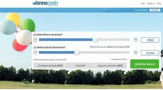 Wannacash Créditos personales rápidos