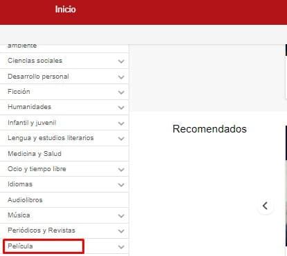 eBiblio biblioteca online