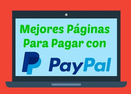 páginas para paypal