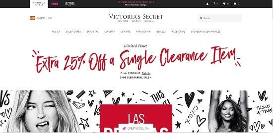 victoria secrets comprar por internet