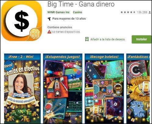 apps de juegos de dinero online bigtime