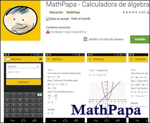 Calculadora de ecuaciones