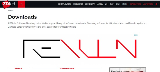 ZDNet Downloads programas free