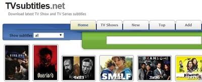TVsubtitles.net subtitulos en español