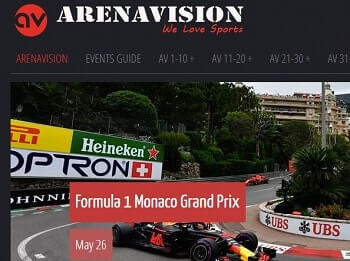 arenavisión f1 online