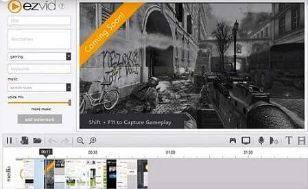 programa grabar pantalla ezvid