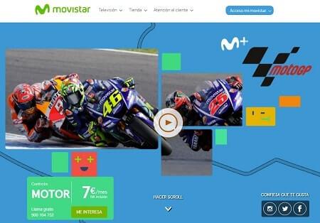 ver movistar motogp online