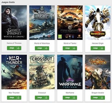 paginas para descargar juegos android gratis apk