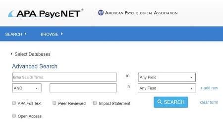 psycnet academicos en linea