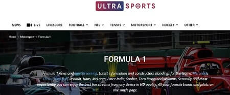 ultrasports watch f1
