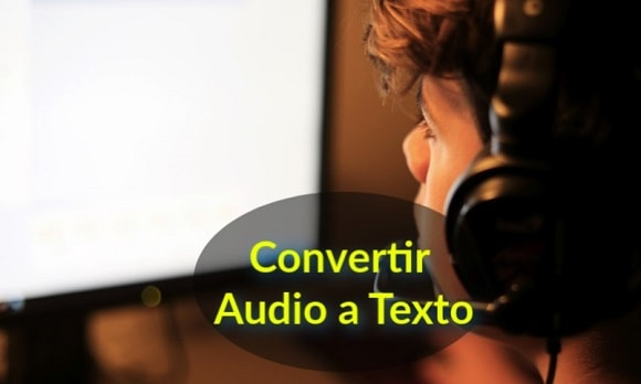 convertidor audio texto