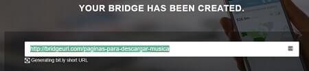 bridgeurl reducir link