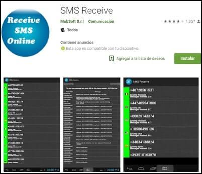 Enviar y recibir SMS en linea