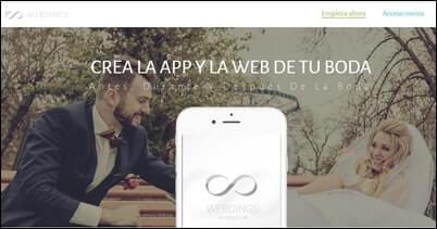 App y web para tu boda