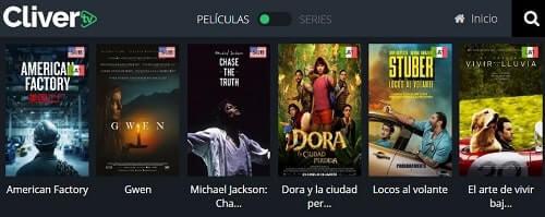 Cliver TV mejor alternativa a DescargasMix seis gratis en español