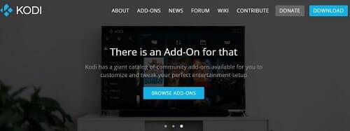 Kodi biblioteca de medios para ver en la pantalla grande