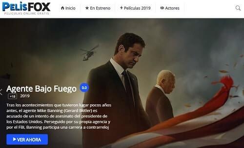 Pelix Fox mejores peliculas en ingles y español