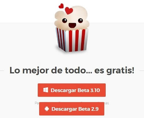 popcorn time alternativa a ddmix sin limites