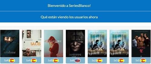 Series Blanco ver peliculas y series en español hd gratis