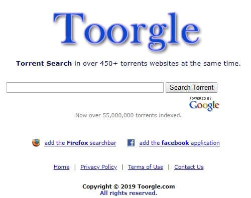 Toorgle el google de los torrents