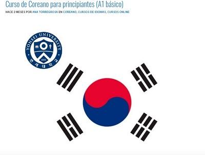 curso de coreano para principiantes