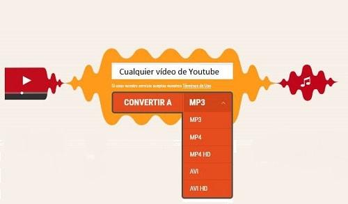 páginas para descargar música de Youtube