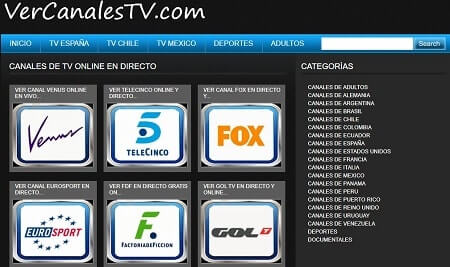 ver canales tv